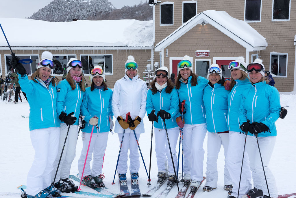 bridal party Cannon Mountain