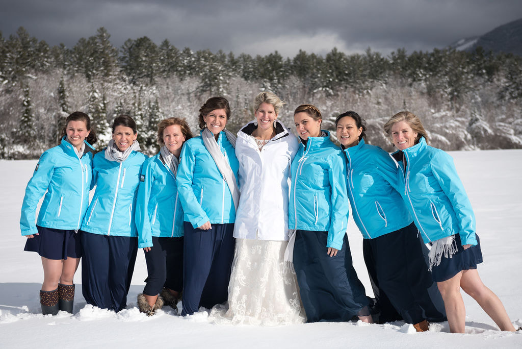 Helly Hansen bridal party
